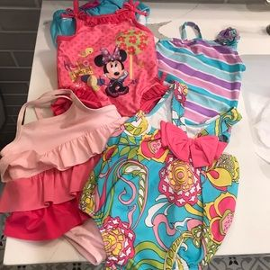 Baby girl swimsuit bundle!!